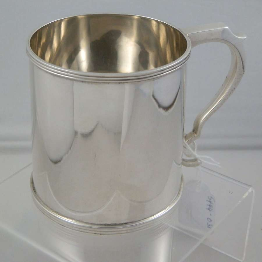 Scottish silver christening cup, Edinburgh 1925