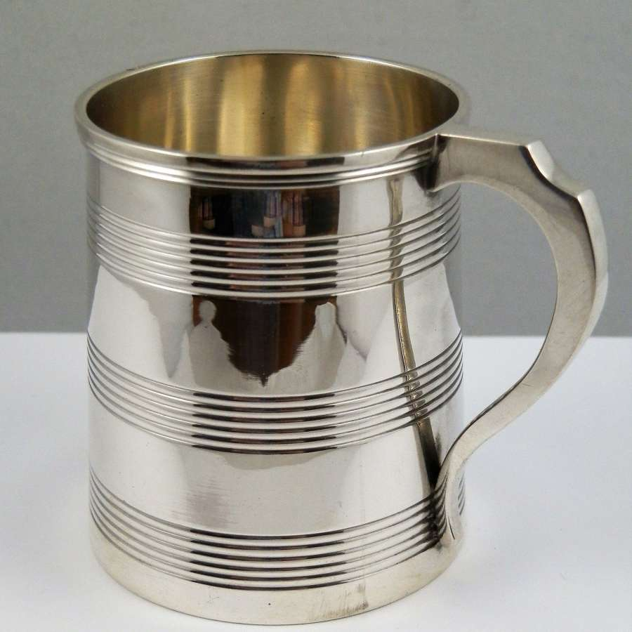 George III silver cup, London 1816