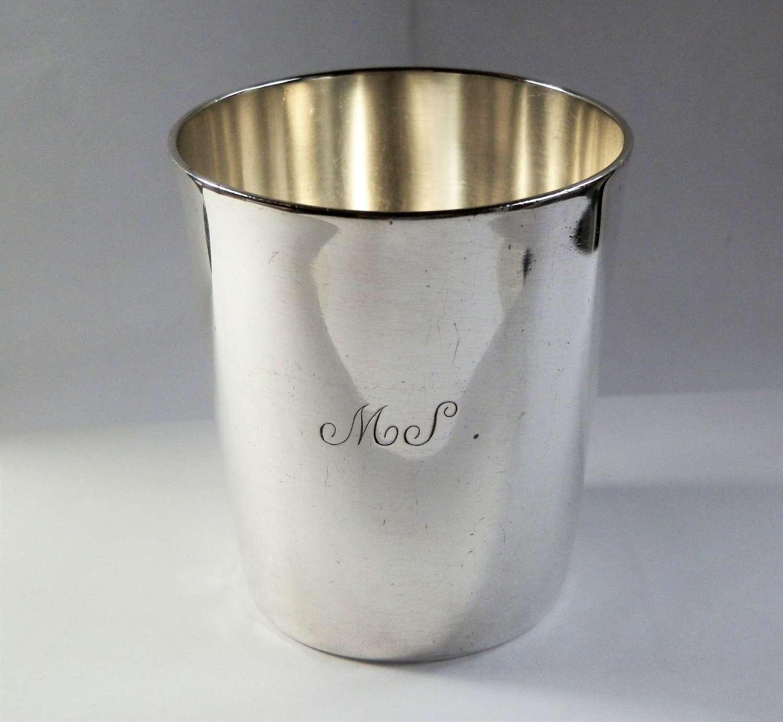 Scottish provincial silver beaker, Perth c.1791