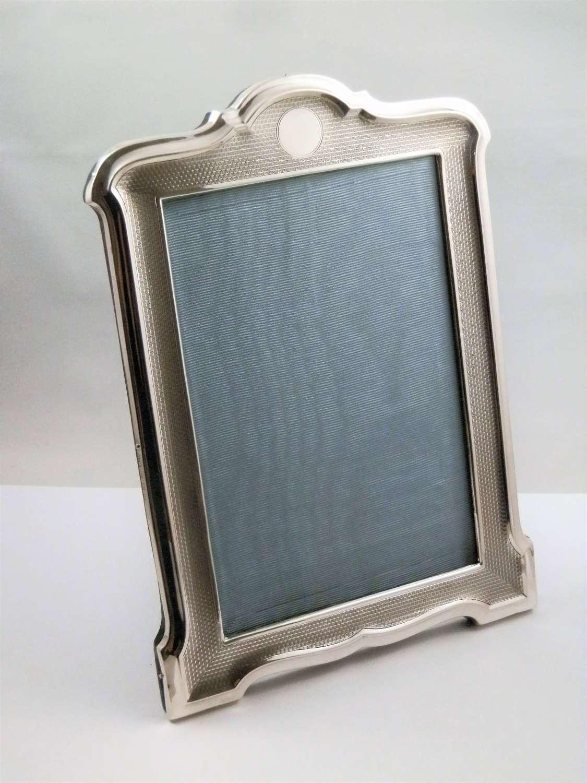 George V silver picture frame, Birmingham 1925