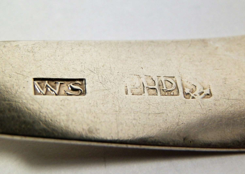 Scottish provincial silver ladle, William Smith of Peterhead 1820