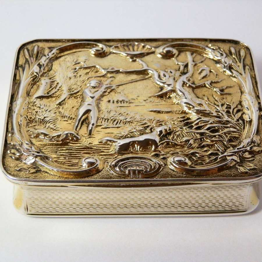 George III silver gilt
