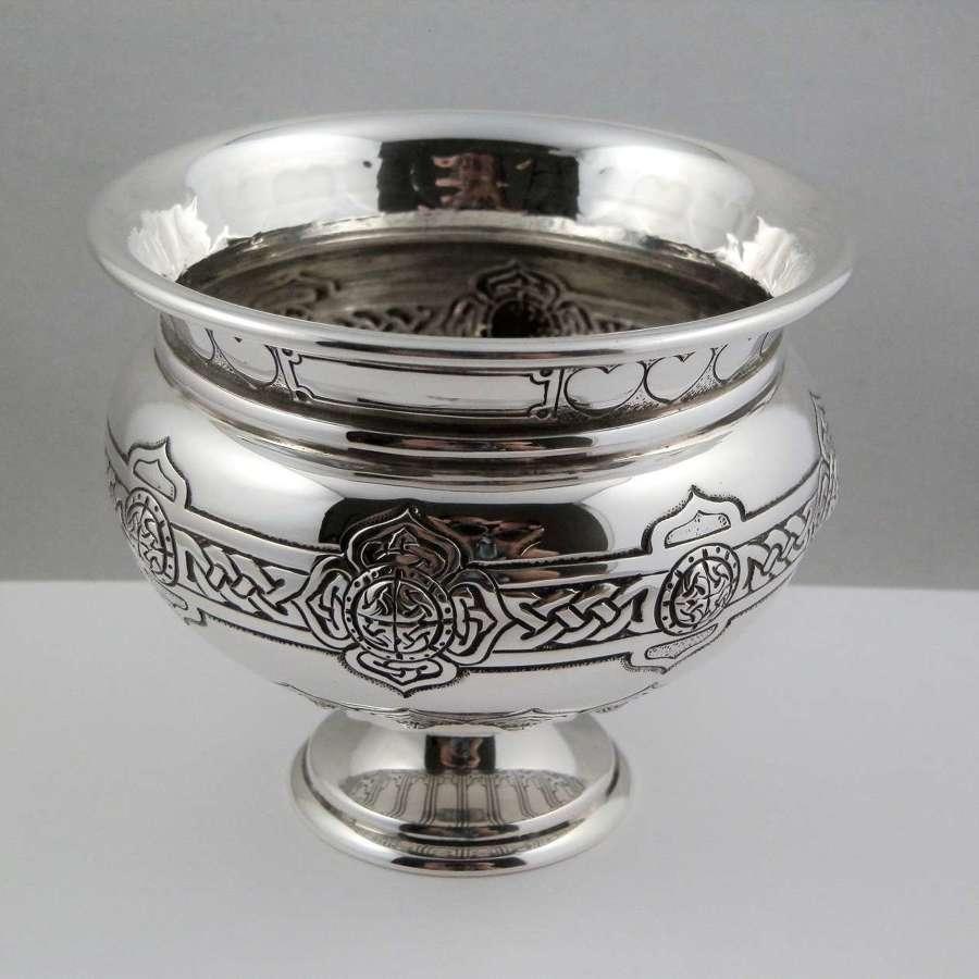 A Elizabeth II silver bowl, Birmingham 1960, Adie Brothers